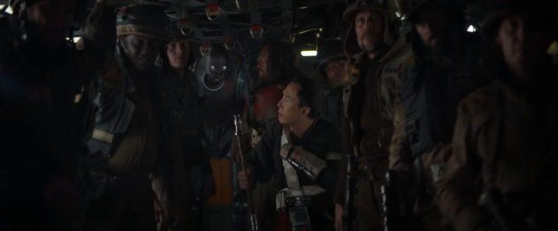 Skupina Rebelských bojovníků pod vedením Jyn Ersa má důležitou misi.