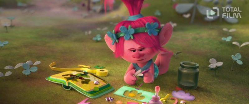Princezna Poppy je opravdu veselá trollice.